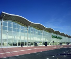 Terminal-front-sunny-day